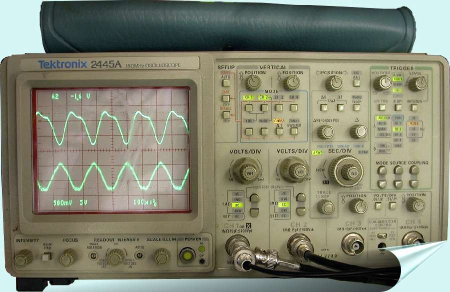 Allow us the opportunity to repair and refurbish your TEKTRONIX 2445A Oscilloscope.